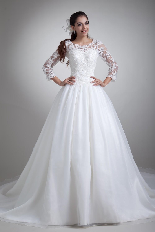 Robe de mariée princesse, sa robe est rose bonbon !