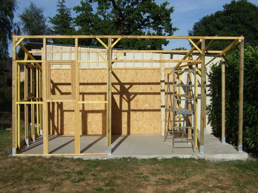 Construction D Un Abris De Jardin En Bois - Conceptions De La Maison ...